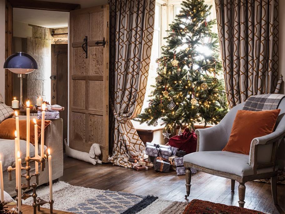 Święta w podmiejskiej willi