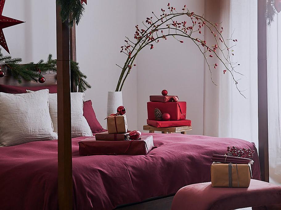 Świąteczna sypialnia x 3