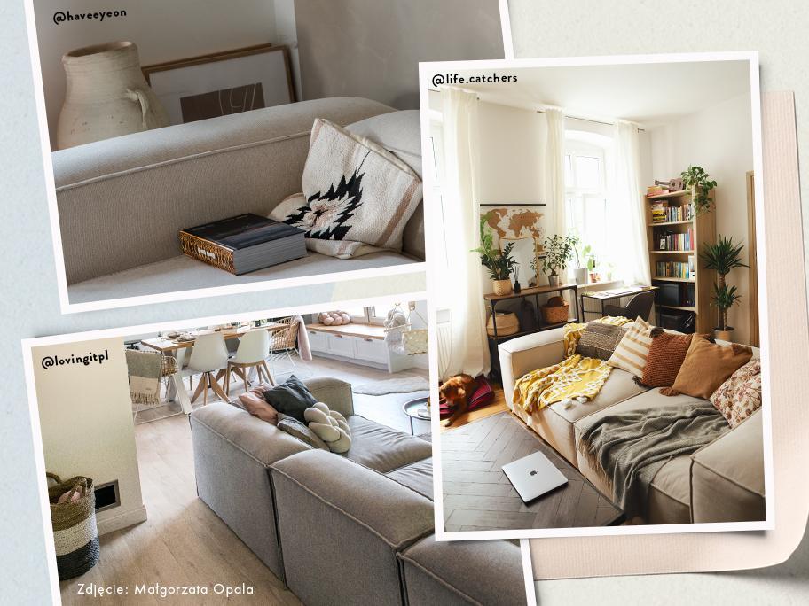 """Sofa """"Lennon"""" w Waszych domach"""