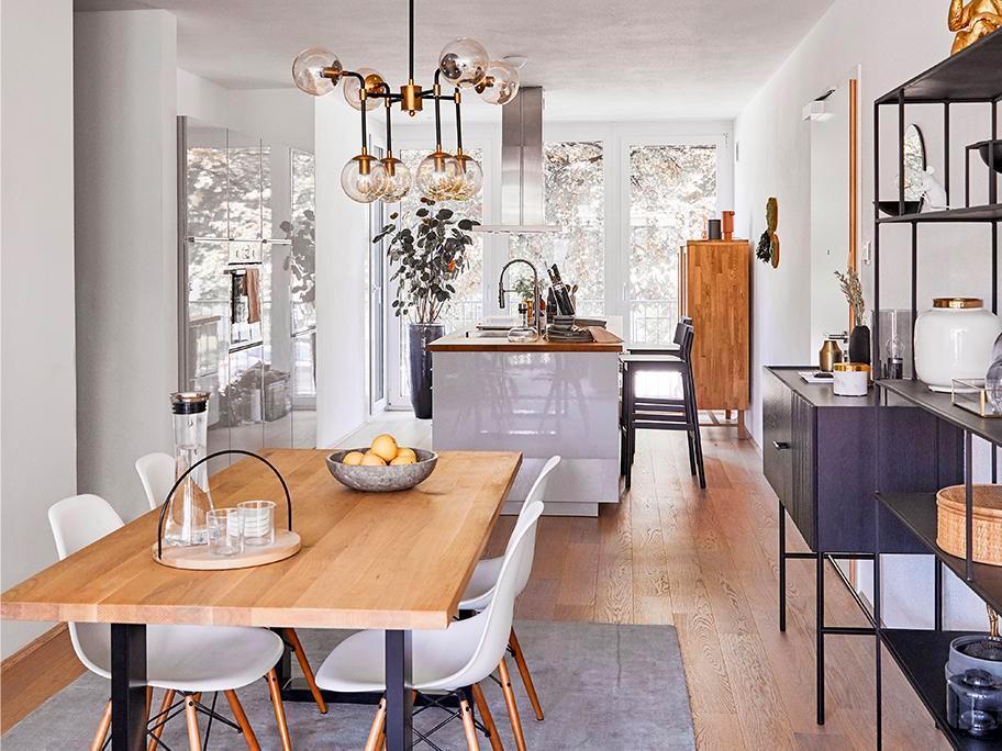 Apartament w duńskim stylu