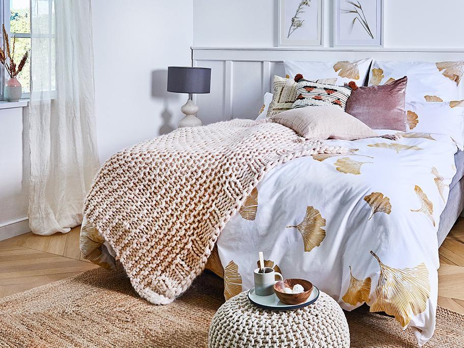Sypialnia: pięknie i niedrogo