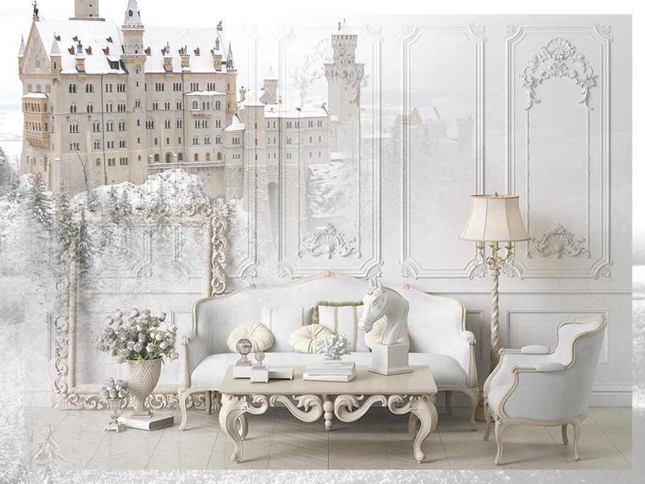 Wnętrza jak z zimowego pałacu