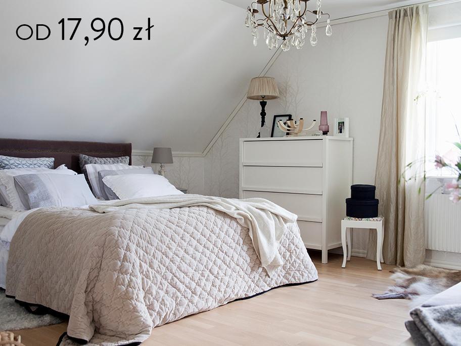 Sypialnia: tekstylia z Francji
