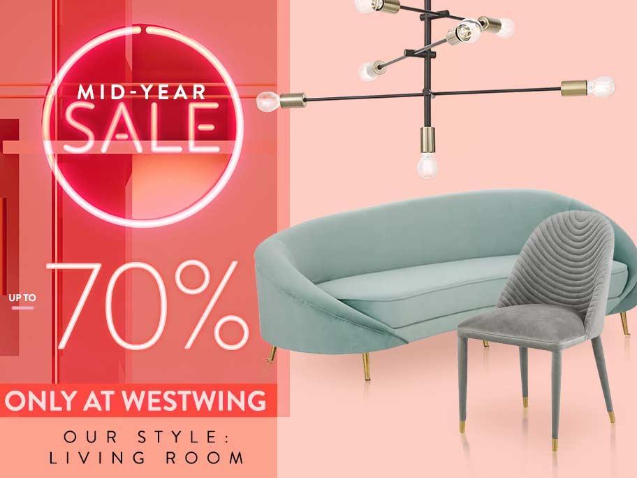 Salon w stylu Westwing