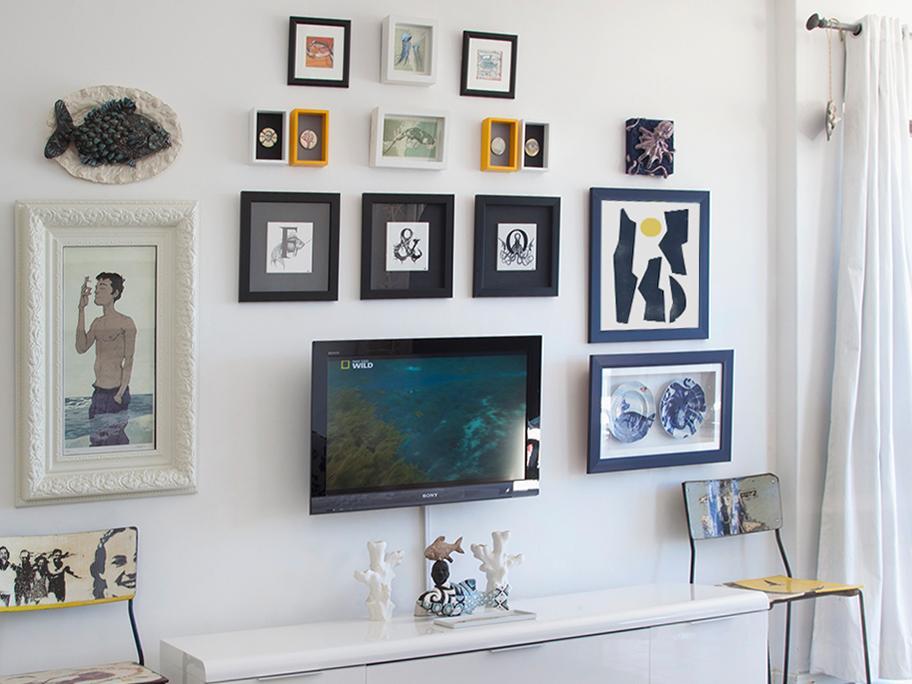 Wall gallery z… telewizorem