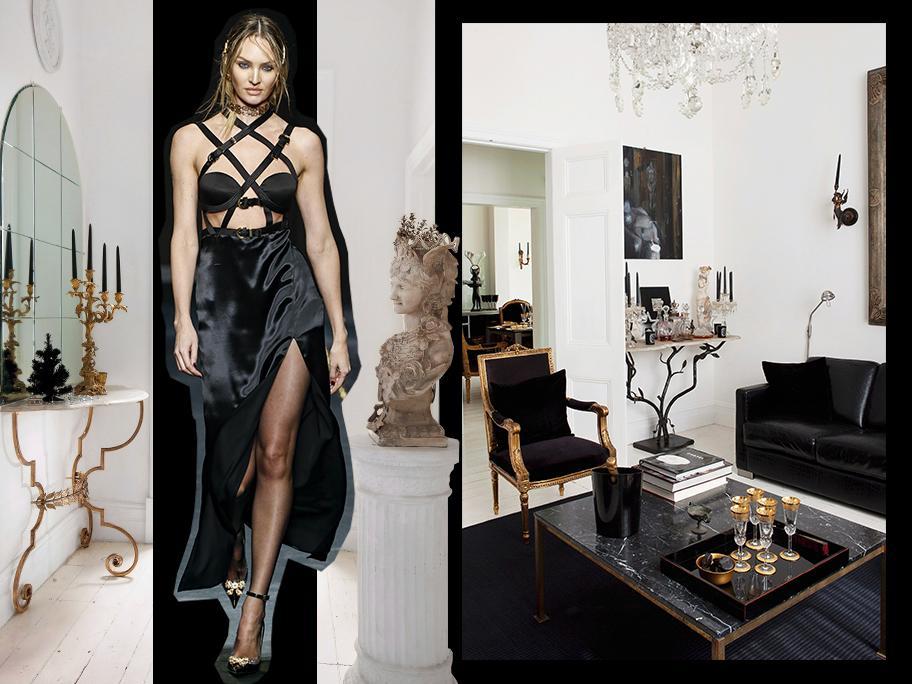 Czerń w stylu Versace