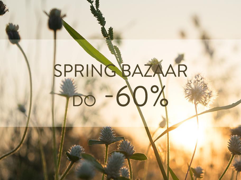 Wiosenne okazje do -60%