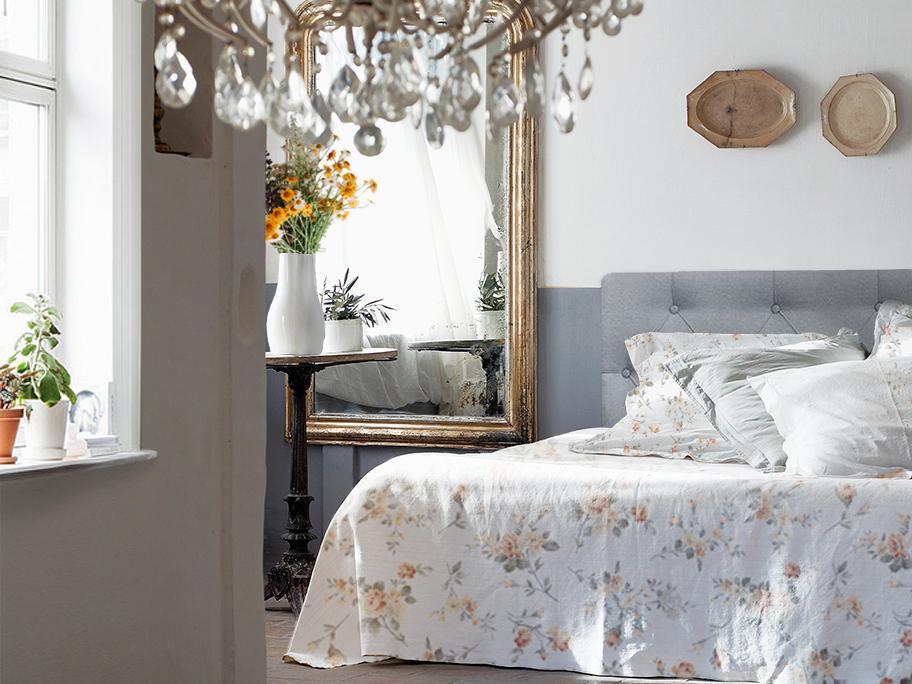 Sypialnia w stylu Provence