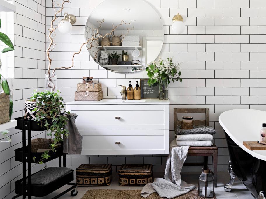 Styl domu stylem łazienki
