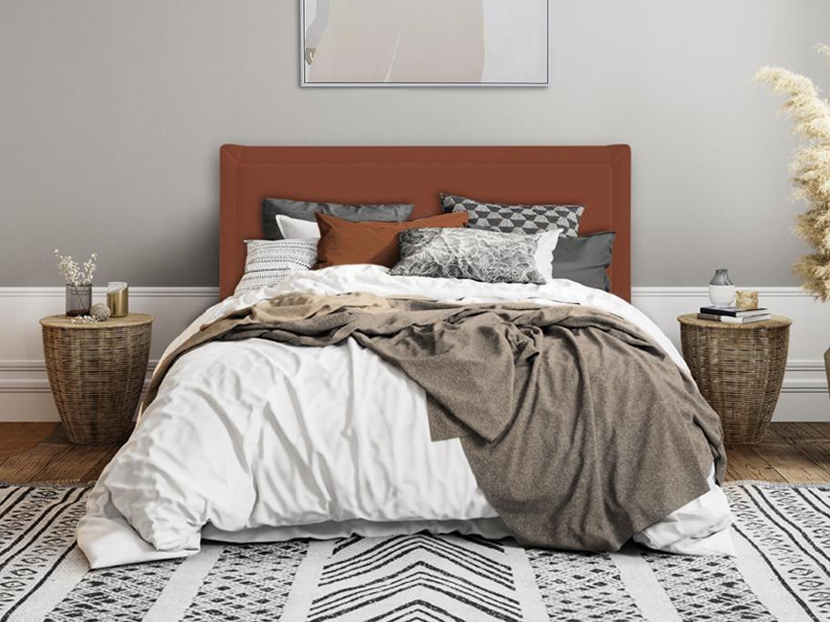 Sypialnia w kolorach ziemi