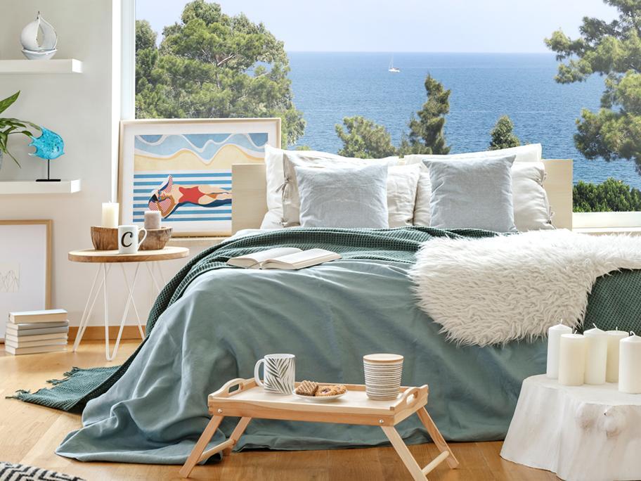 Sypialnia z widokiem na ocean