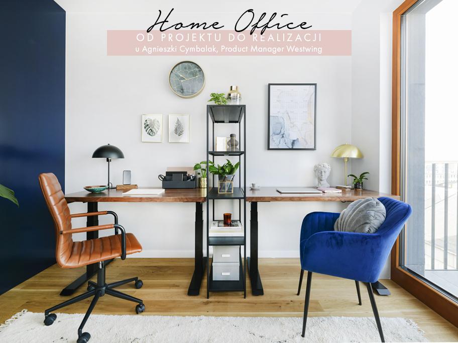 Domowe biuro dla dwojga