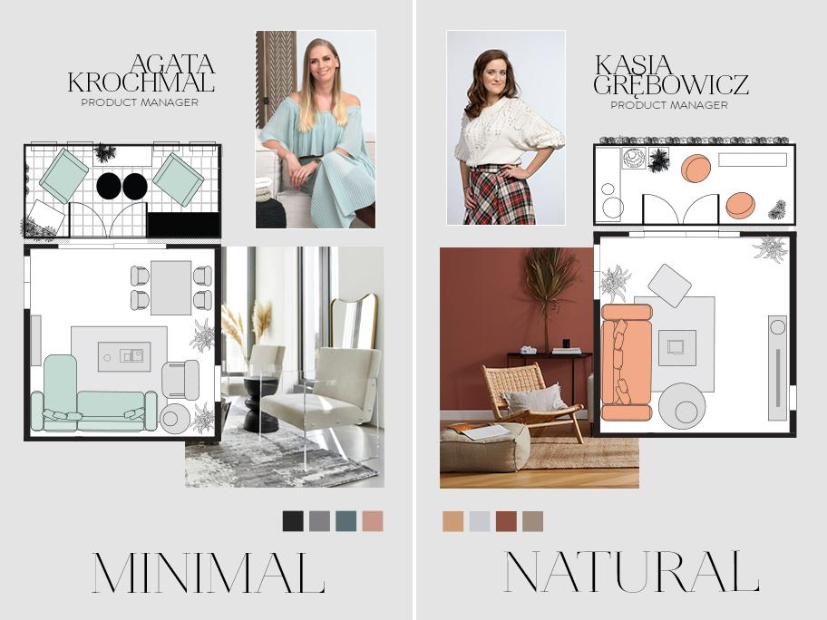 One interior – two ideas