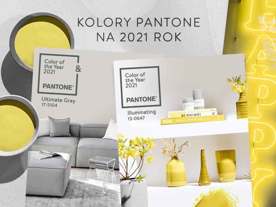 Dom w kolorach Pantone 2021