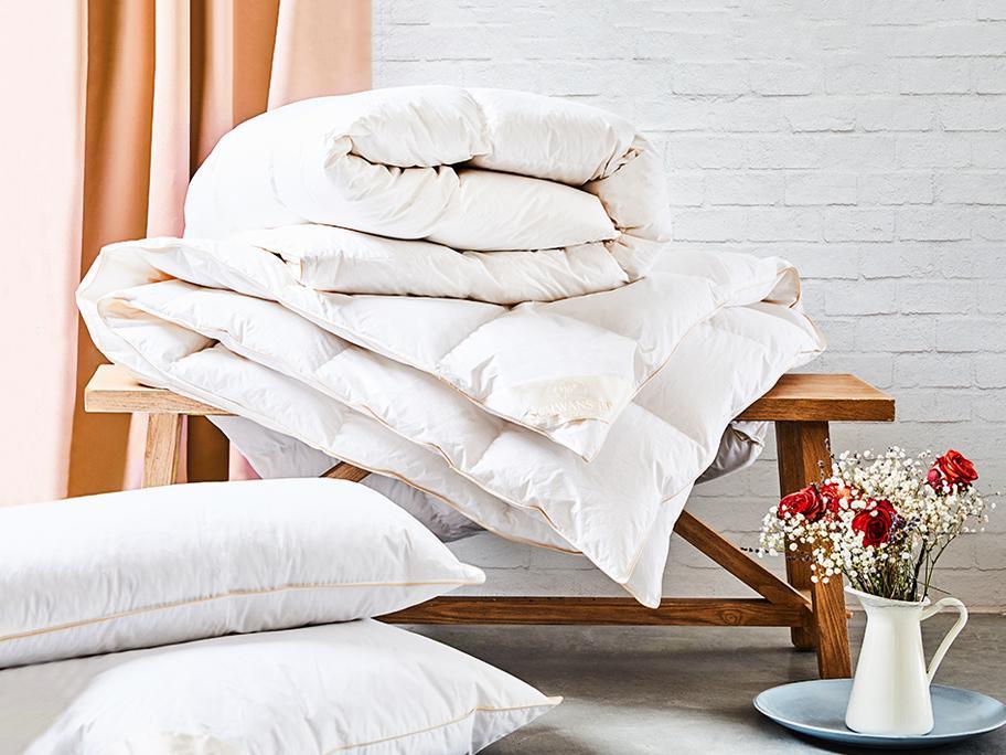 Całoroczne kołdry i poduszki