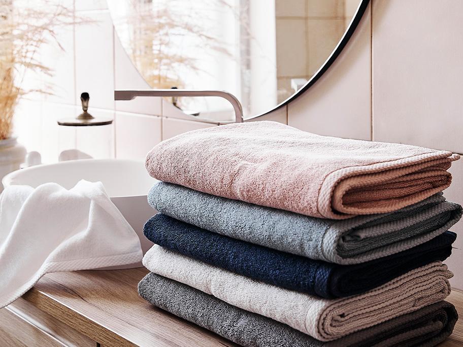 Tekstylia łazienkowe do -60%!