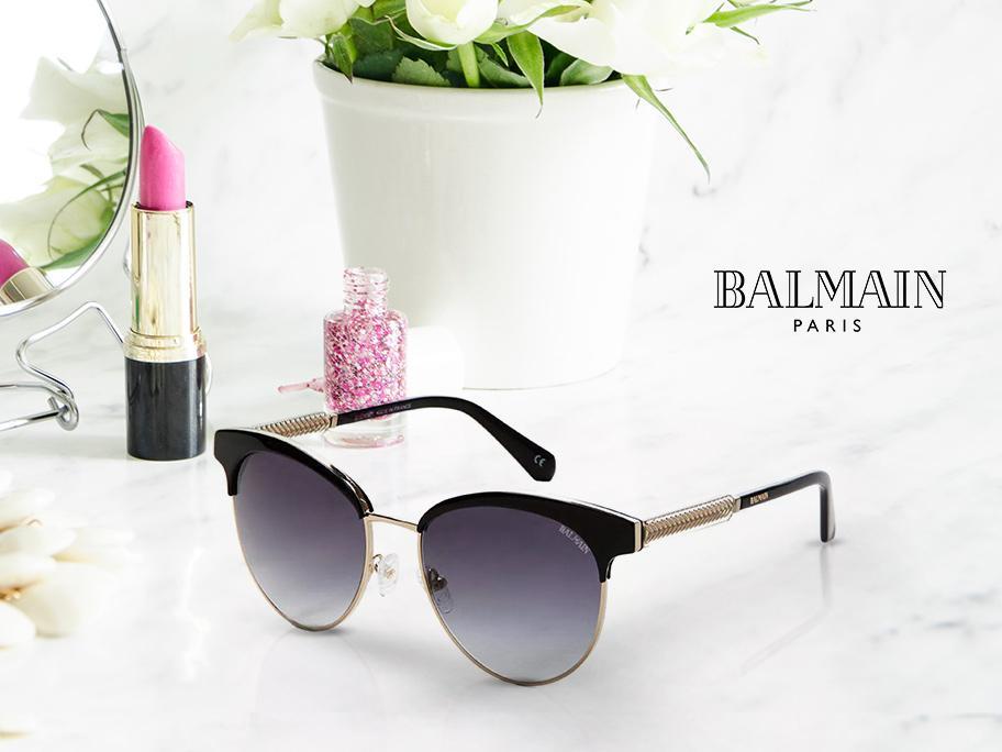 Okulary Balmain