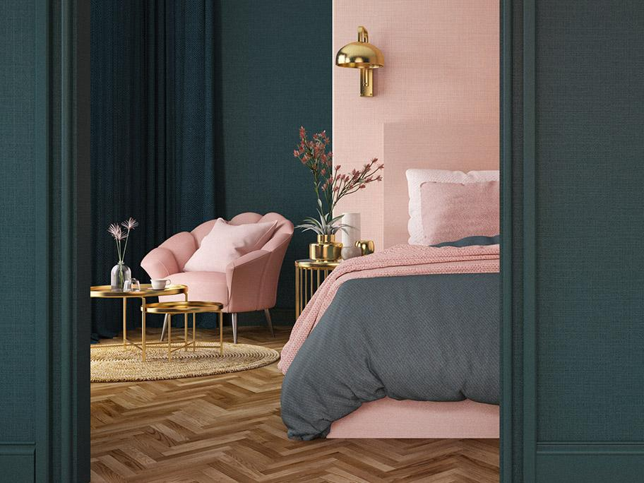 Idealna sypialnia Art Déco