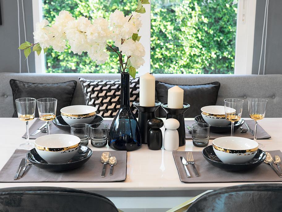 Elegancja podana do stołu