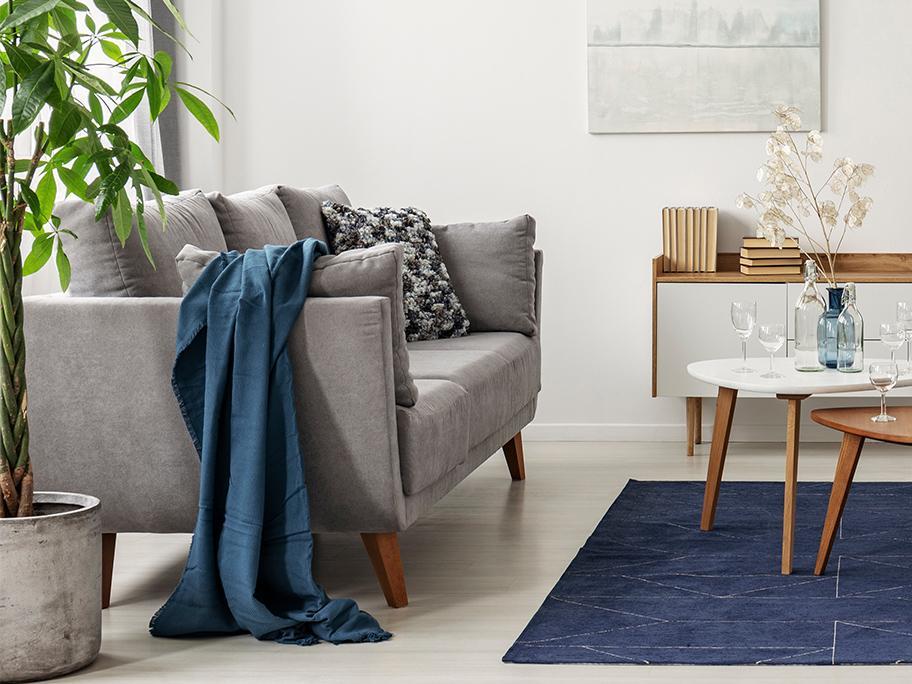 Sofa   Ultimate Grey & Blue