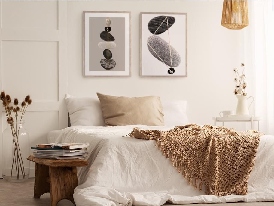 Sypialnia Wabi-sabi