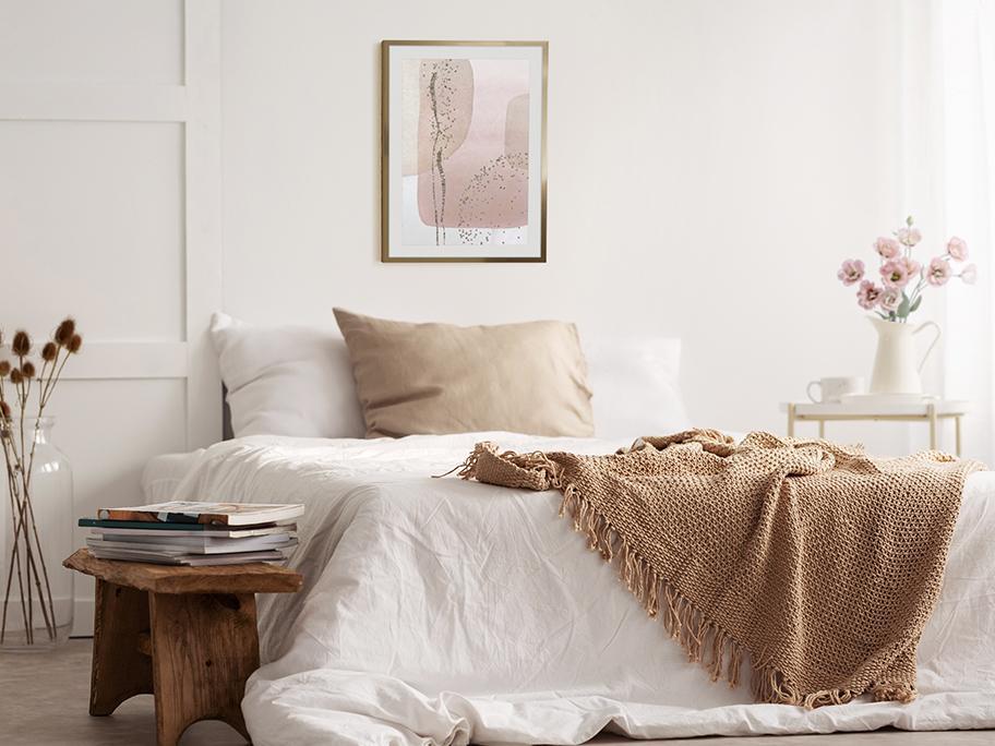 Wyciszająca sypialnia