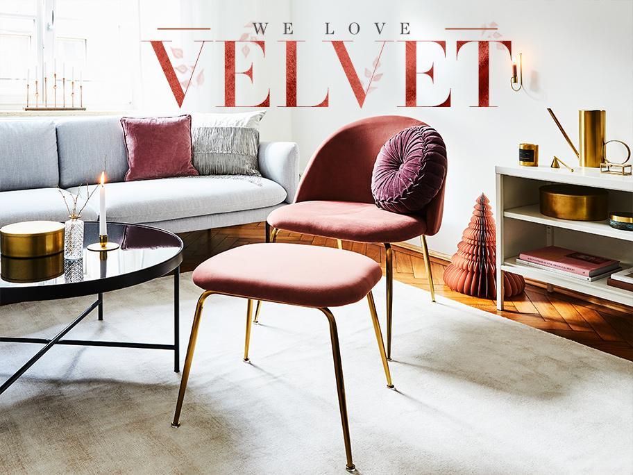 We love velvet