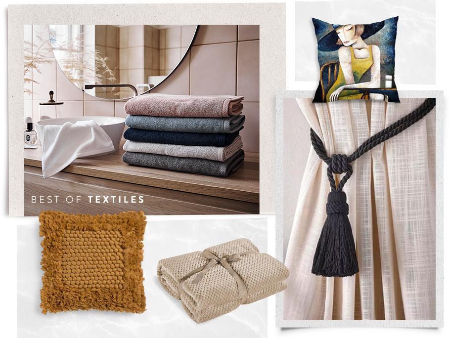 Bestsellery: Tekstylia