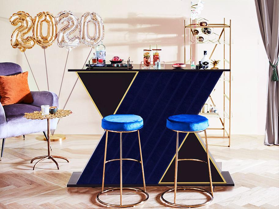 Style your home bar!
