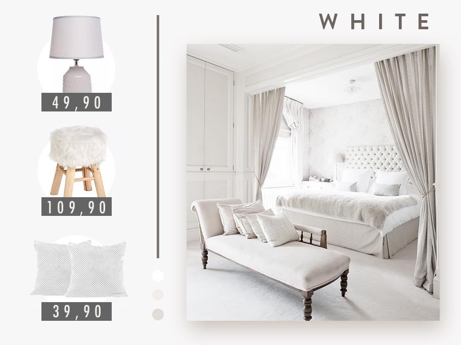 Color palette: WHITE