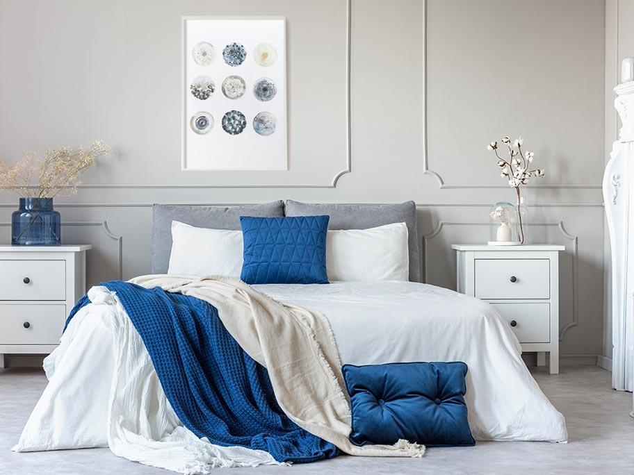 Sypialnia Winter Hamptons