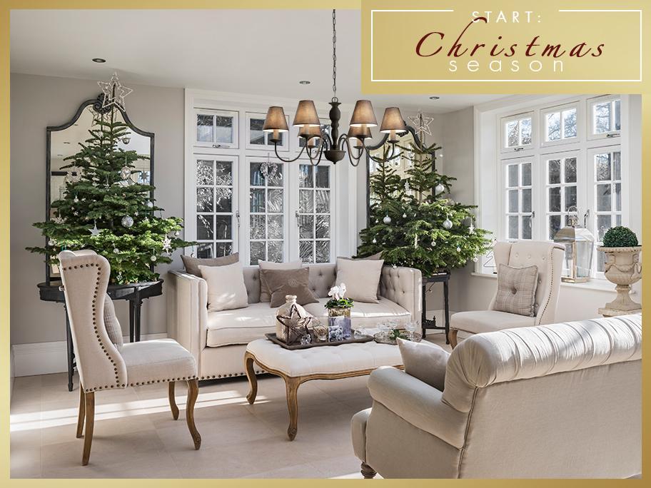 Święta w stylu Cottage
