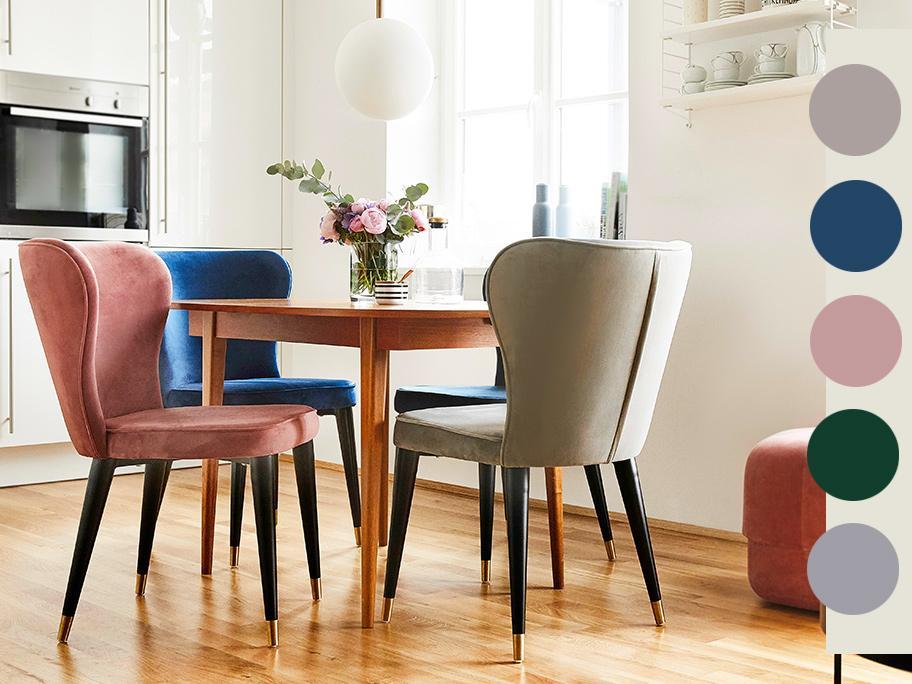 Siedziska w modnych kolorach