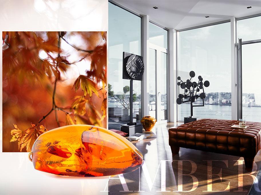 Autumn trend: amber