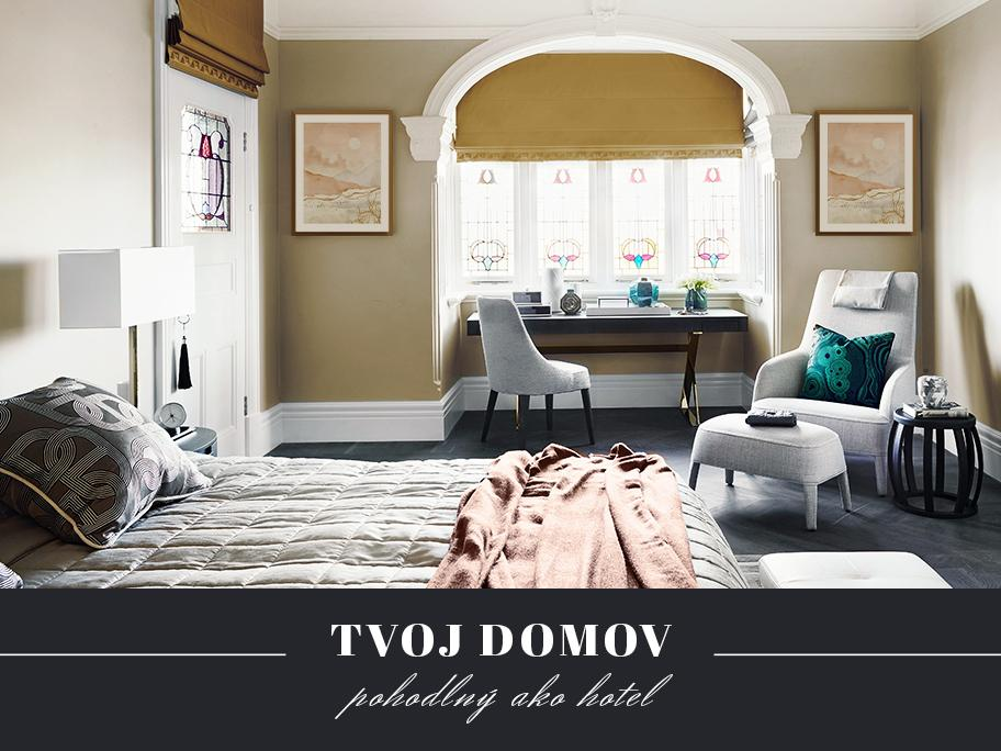 Spálňa ako prestížne suite