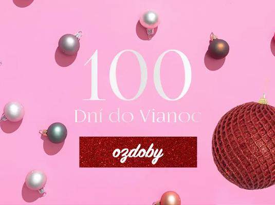 100 dní do Vianoc: Ozdoby
