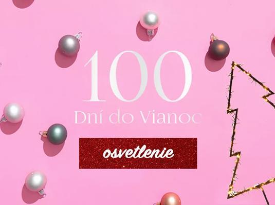 100 dní do Vianoc: Osvetlenie
