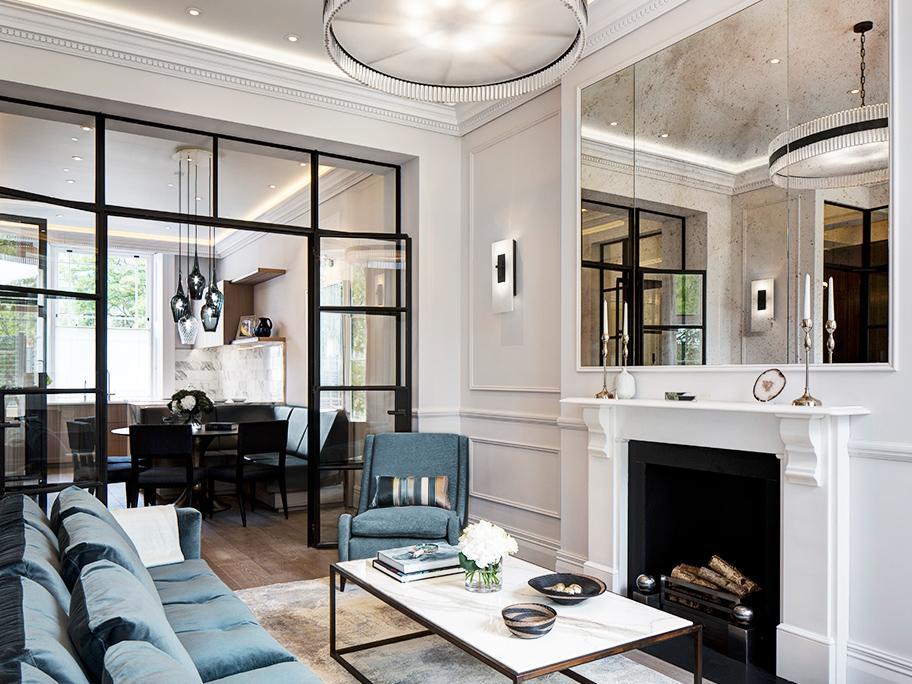 Aká elegantná obývacia izba!
