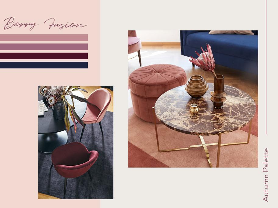 Autumn Palette: Cassis Pink