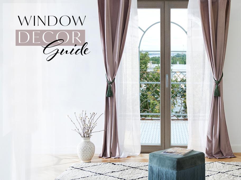 Ako dekorovať okno