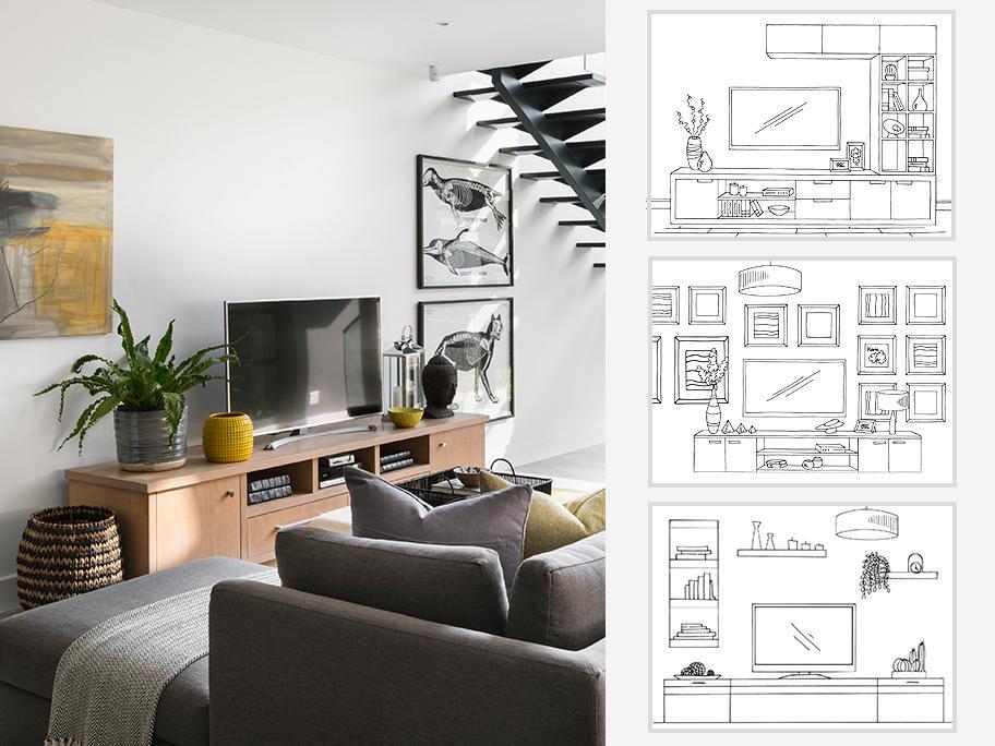 Ako naaranžovať TV-stenu?