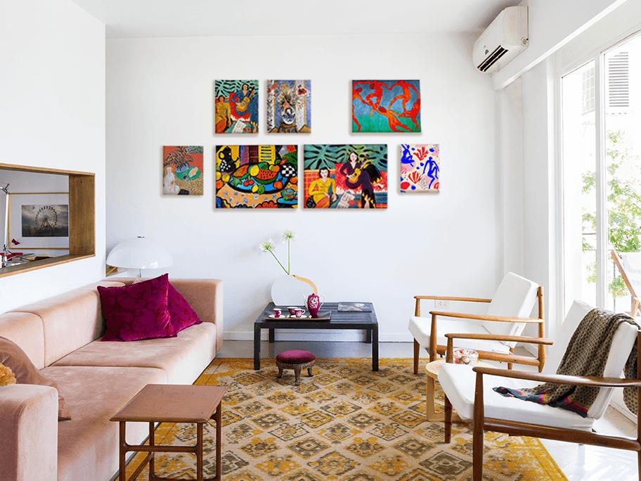 Aranžovanie à la Matisse