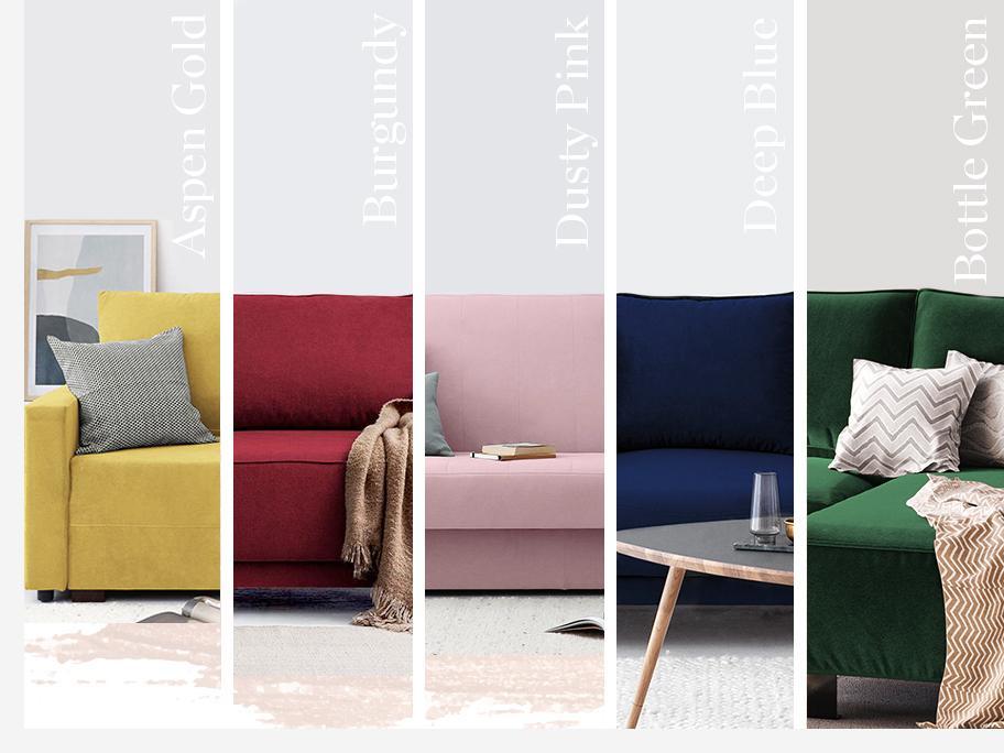 5 shades of sofa