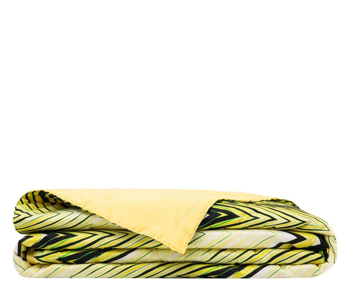 Copriletto trapuntato Charlize lime, 260x270 cm