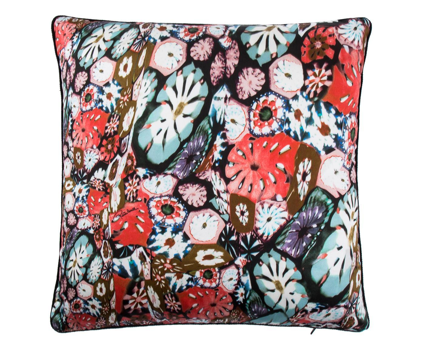 Cuscino arredo Murrine rosso, 40x40 cm