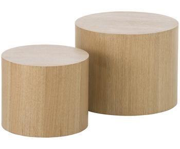 Set de 2 mesas auxiliar Dan