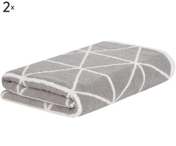 Set de 2 toallas de lavabo Elina