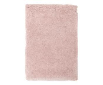 Tappeto morbido e a pelo lungo rosa Leighton, 160x230 cm