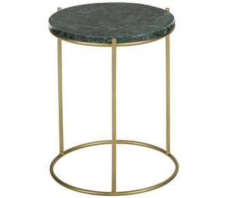 Table d\'appoint ELLA, marbre - Ø40