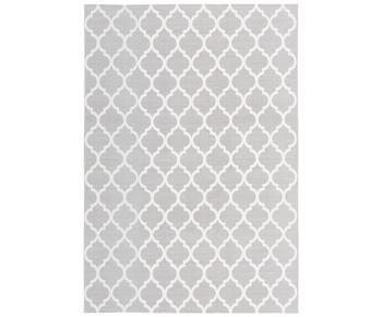 Alfombra artesanal de algodón Amira, 160 x 230 cm